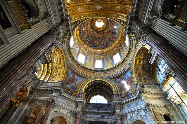 Inside the Chiesa di Sant'Agnese in Agone,Piazza Navona, 00186 Roma, Italy