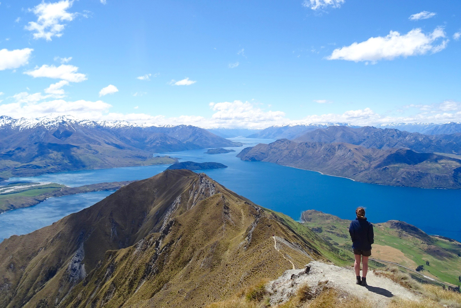 Atop Mount Roy, Wanaka -That view more than made up for the 3 hour trek!