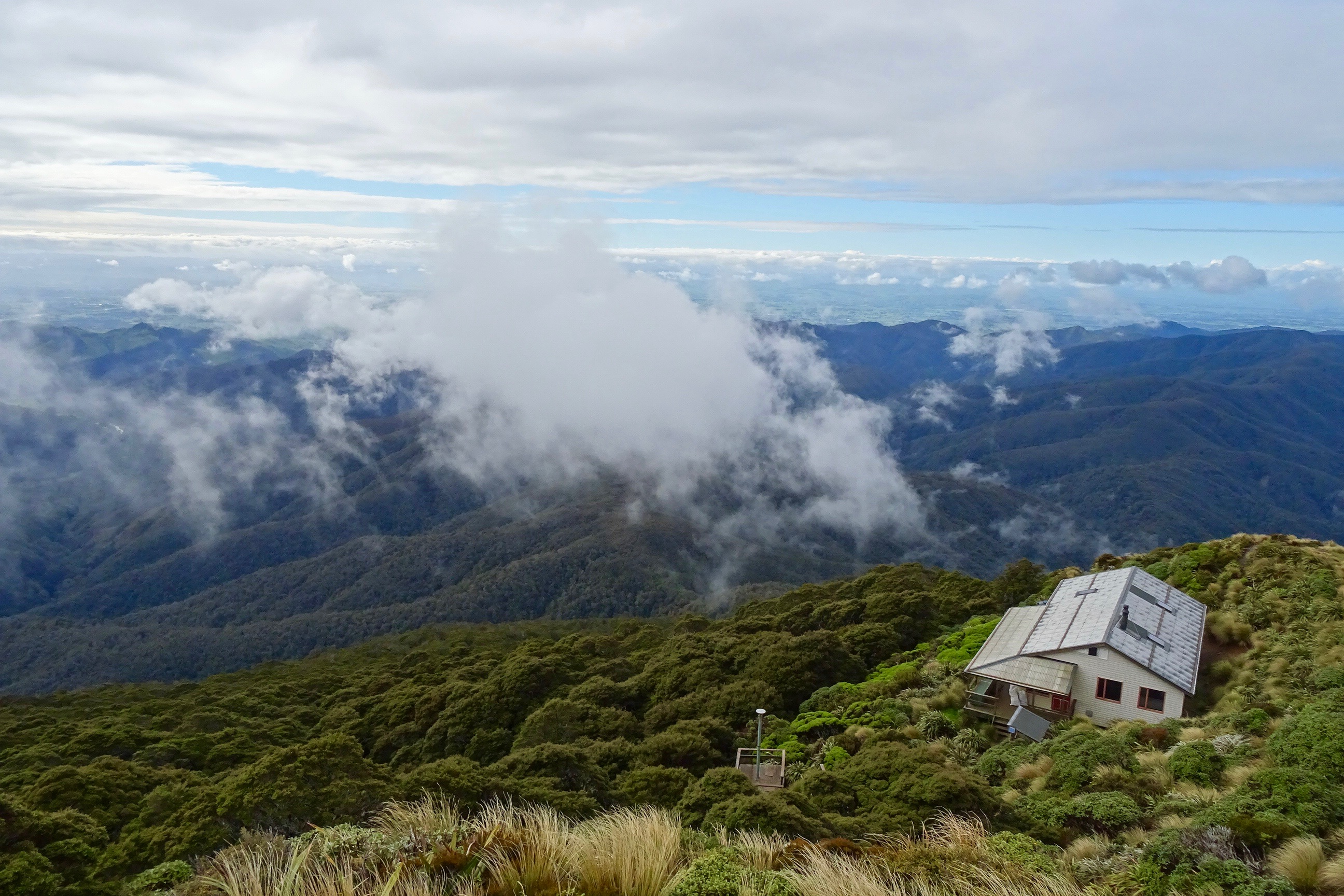 Powell Hut, Tararua Forest Park - spinthewindrose.com