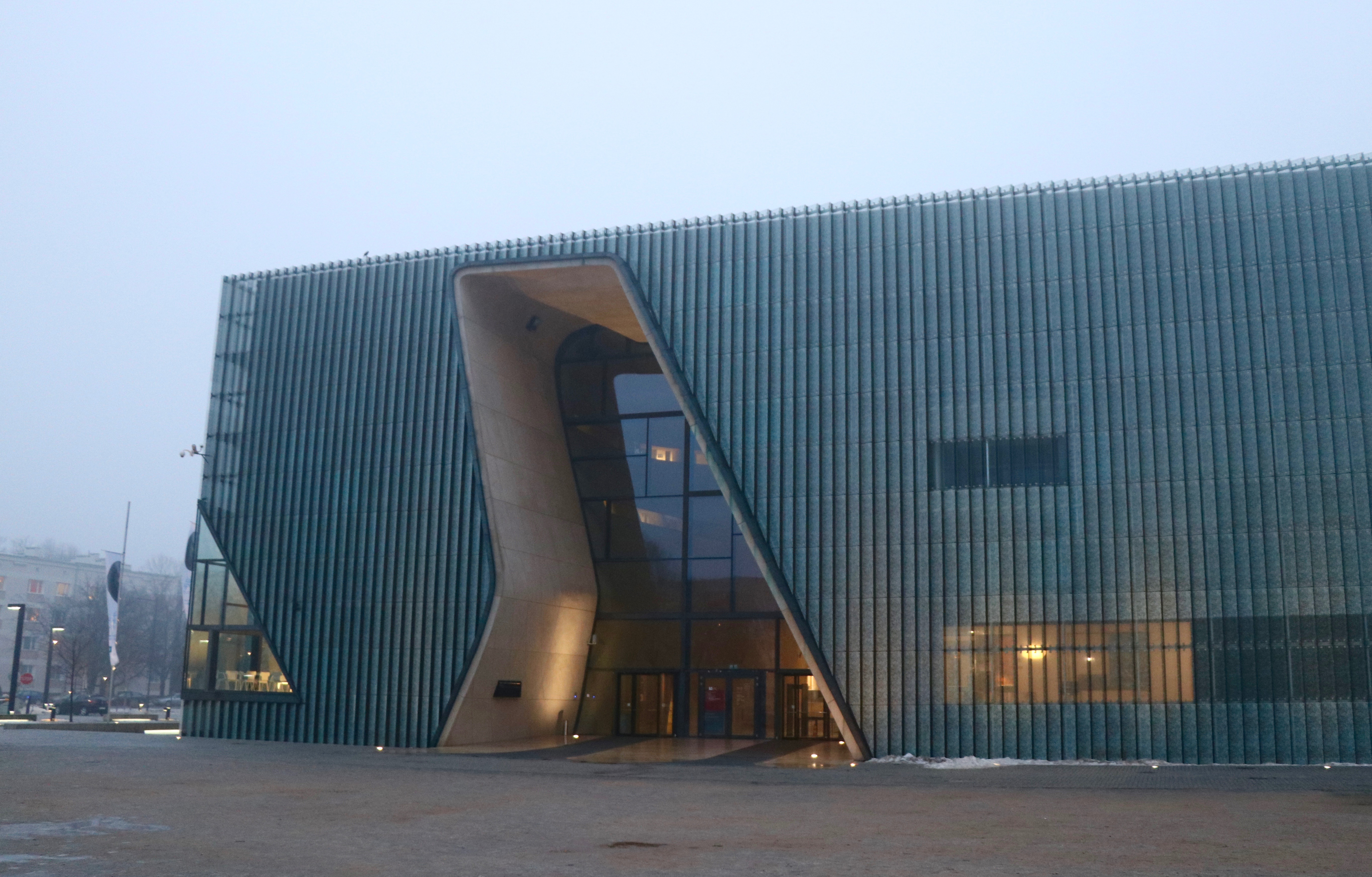 POLIN Museum, Warsaw, Poland - spinthewindrose.com