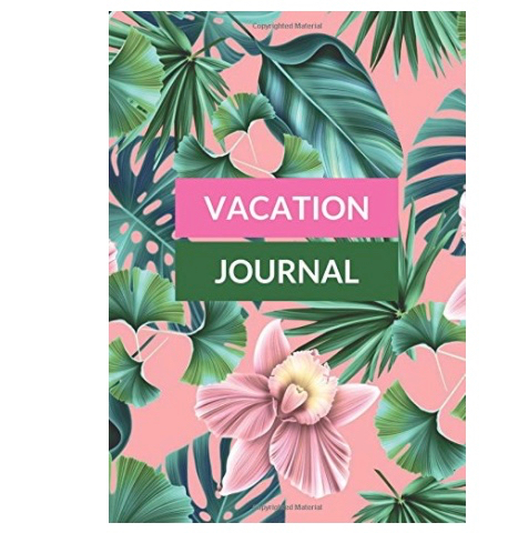 Vacation Journal - Best Gifts for Travelers - spinthewindrose.com
