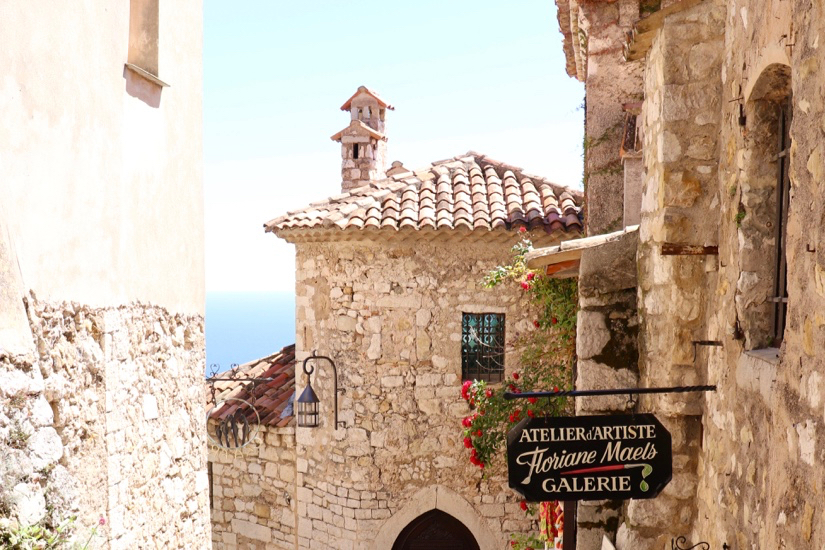 Exploring the Medieval Town of Eze-Sur-Mer, France
